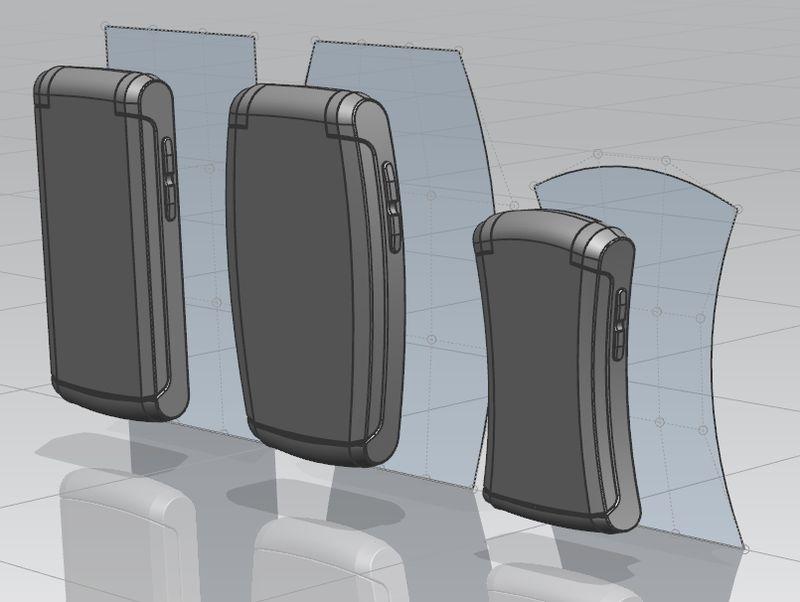 NX Global Shaping - różne warianty produktu dzięki odwzorowaniu kształtu powierzchni wzorcowej