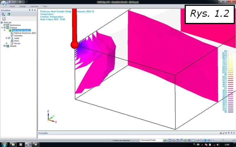 Nowe rozwiązania dla obliczeń cieplnych w SOLID EDGE ST5