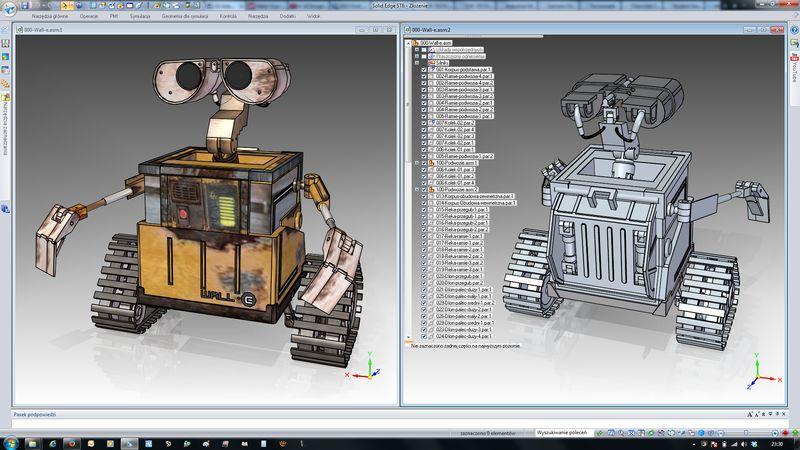Ciekawe projekty studenckie z różnorodnych branż inżynierskich wykonane w SOLID EDGE