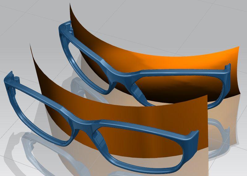 NX Global Shaping - modyfikacja geometrii z wykorzystaniem powierzchni wzorcowej