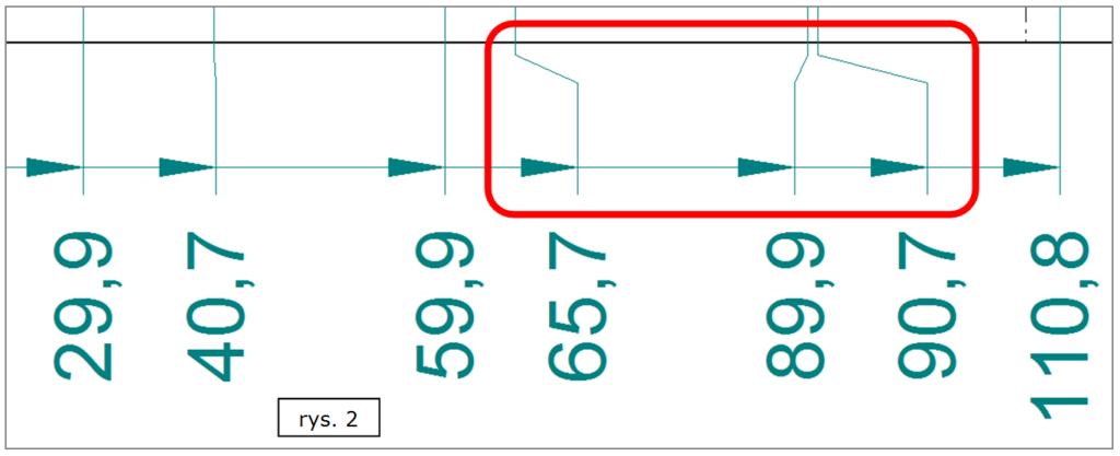 Automatyczne uskoki - wymiarowanie współrzędnościowe SOLID EDGE ST7