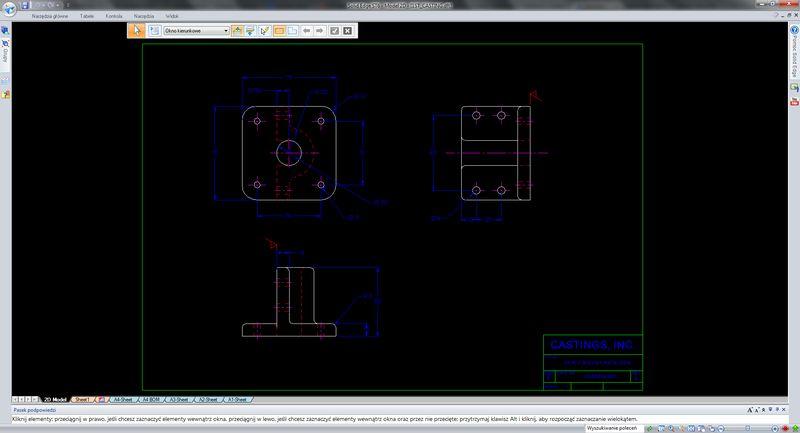 Tworzenie modelu 3D z wykorzystaniem istniejącej dokumentacji 2D