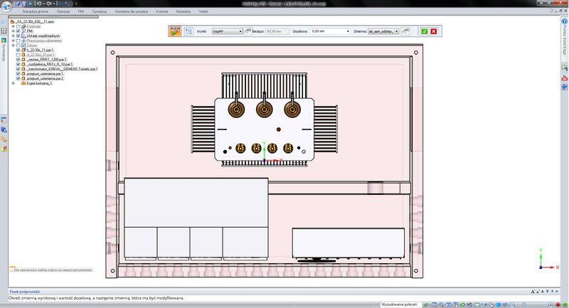 Optymalizacja konstrukcji (np. zmiana położenia środka masy)