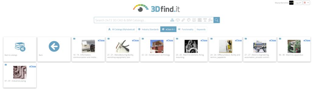 Solid Edge 2021 – nowa biblioteka elementów standardowych 3Dfind.it oraz możliwości jej przeszukiwania