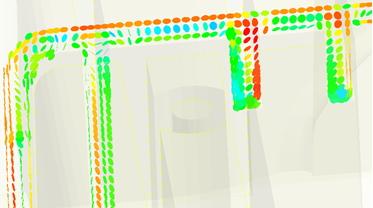 Analiza Moldex3D orientacji cząstek wypełniacza w postaci płatków