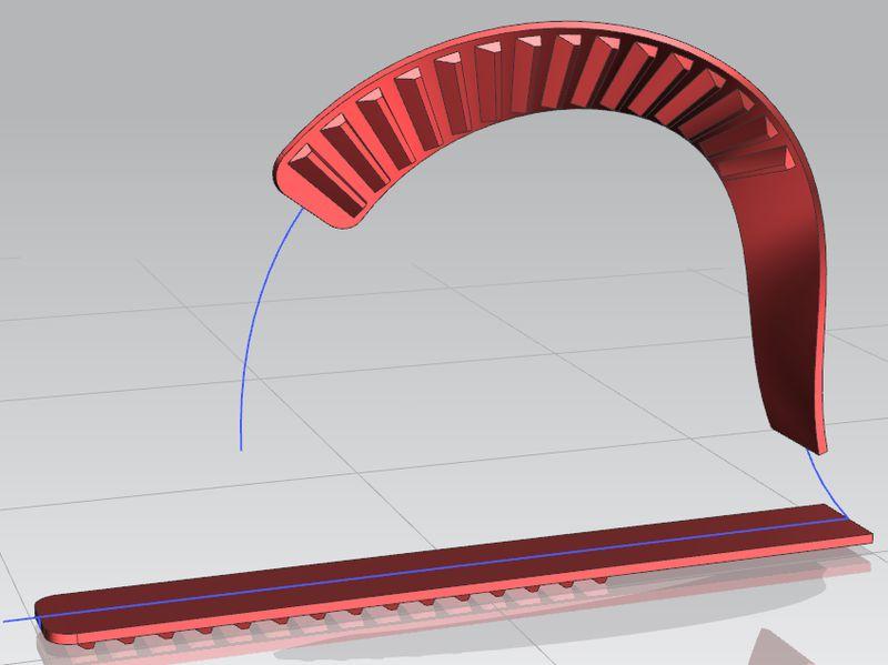 NX Global Shaping - modyfikacja geometrii z wykorzystaniem krzywej wzorcowej i opcji obrotu
