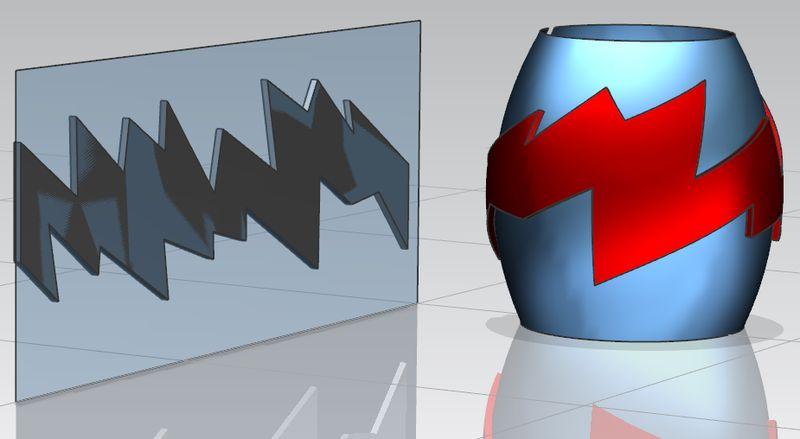 NX Global Shaping - odwzorowanie kształtu na swobodnej powierzchni produktu