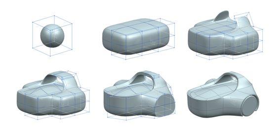 NX realize shape