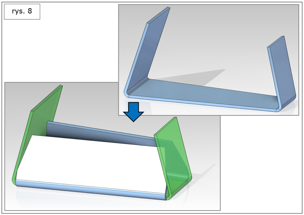 projektowanie elementów blaszanych