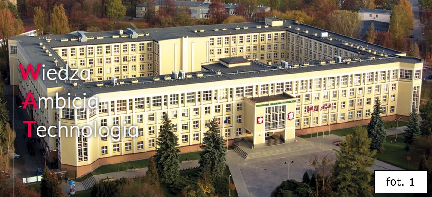 Wojskowa Akademia Techniczna WAT – budynek główny (sztab) i część kampusu