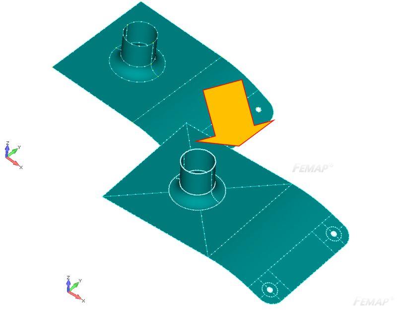 Dopasowanie wielkości siatki pomiędzy różnymi krawędziami zapomocą Meshing Toolbox