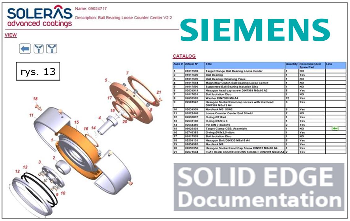 Czytelne i wygodne instrukcje (de)montażowe, serwisowe w Solid Edge ST10