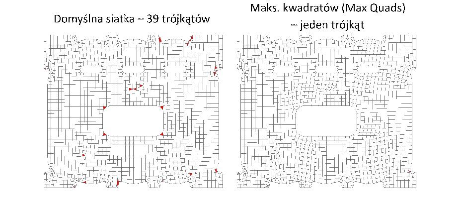 Nowy algorytm generowania siatki Quad w Femap 11.3.