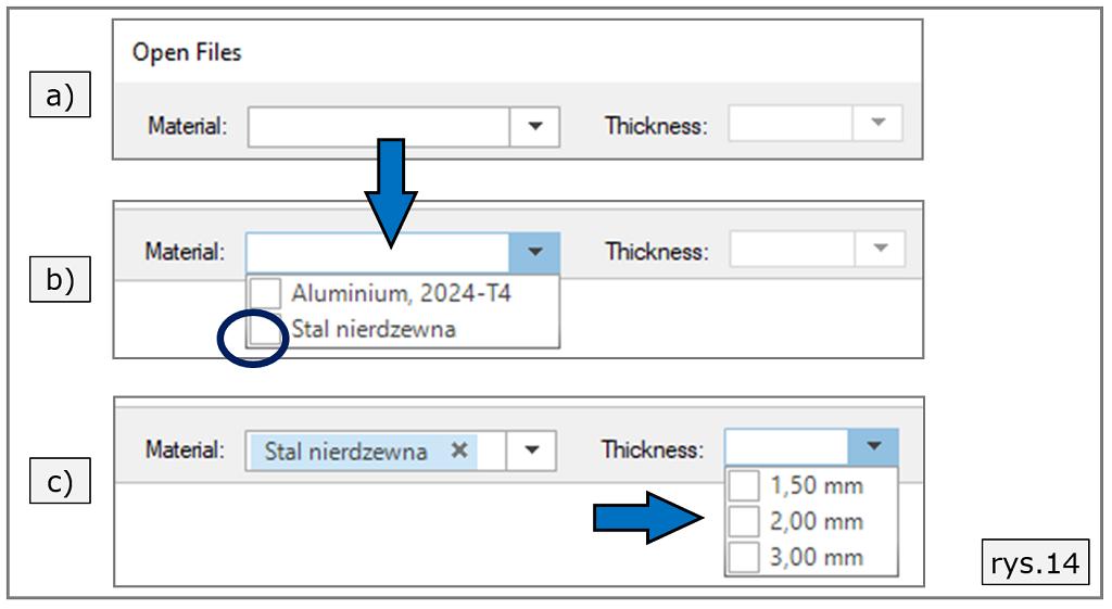 odfiltrowanie komponentów solid edge 2d nesting