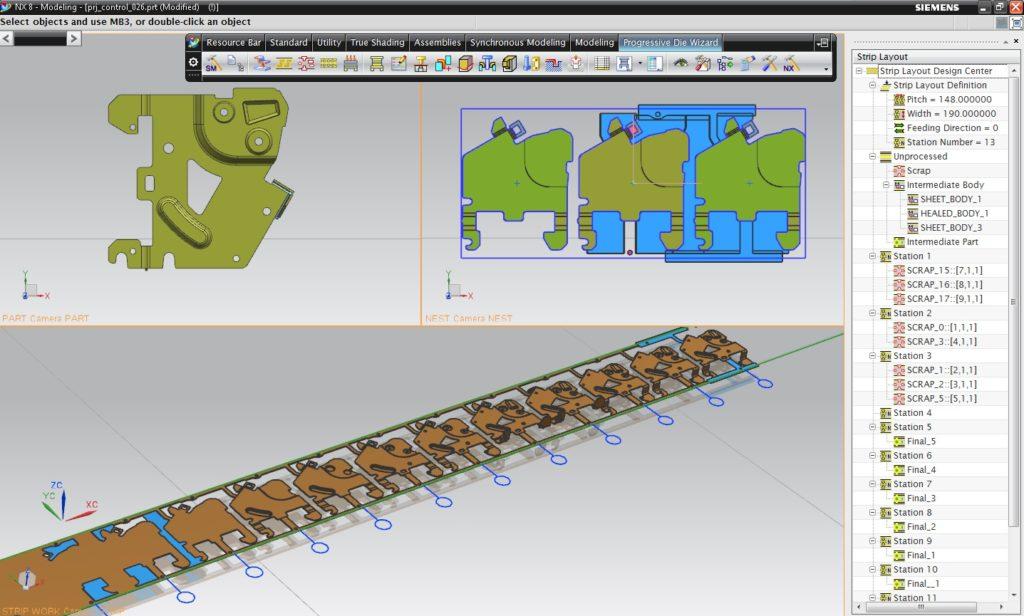 Zastosowanie systemu NX CAD w wybranych branżach przemysłowych