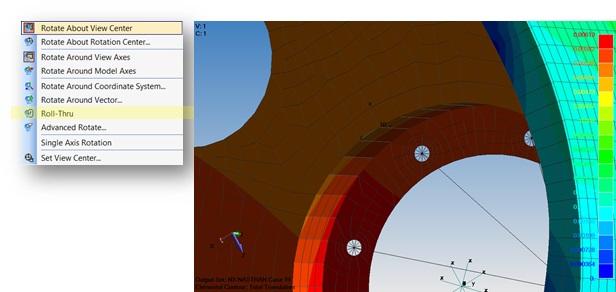 Nowa opcja Roll-Thru w Femap 11.3.