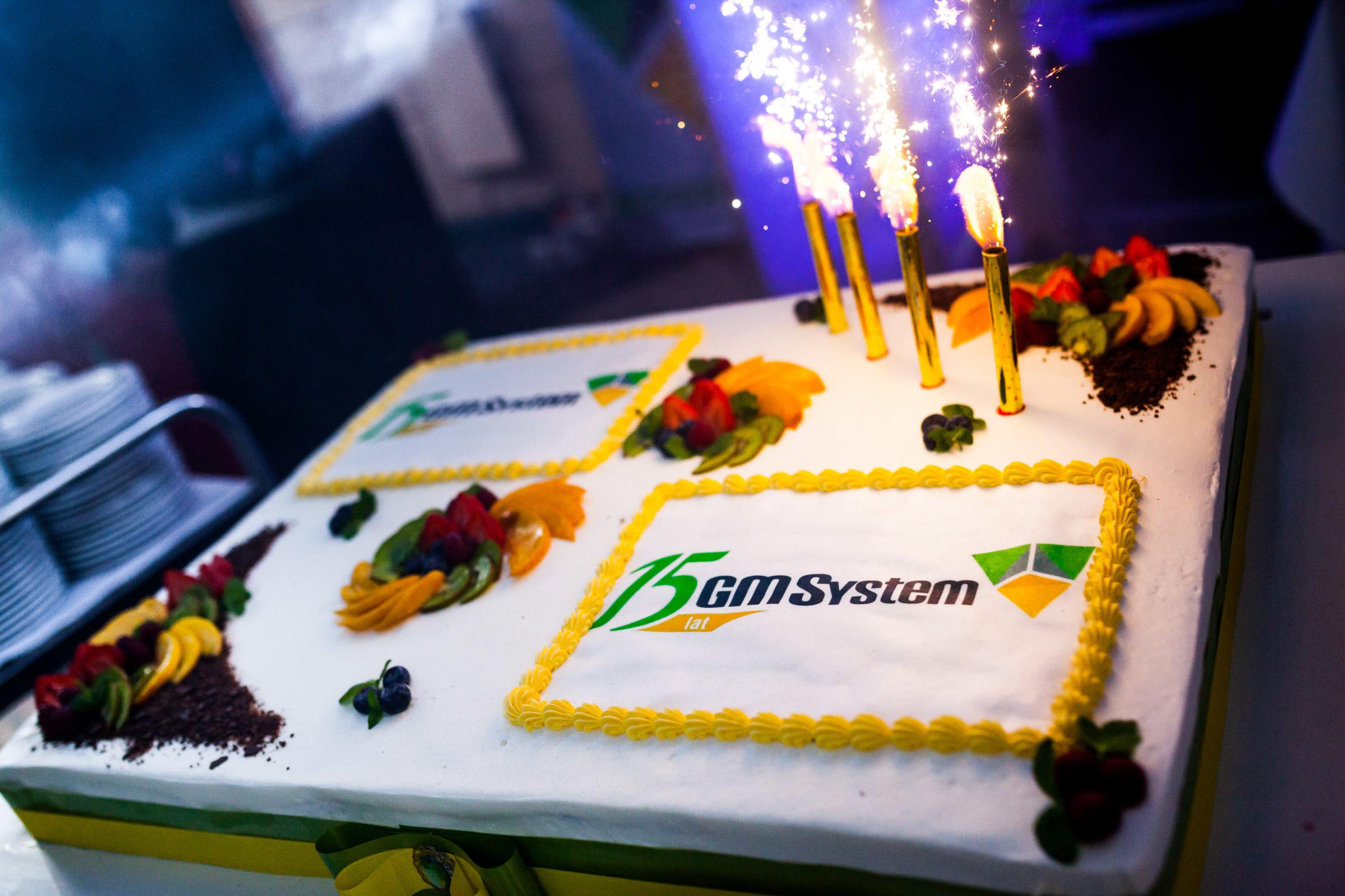 Impreza urodzinowa - 15 lat GM System