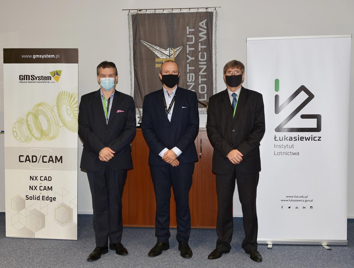 GM System, Sieć Badawcza Łukasiewicz Instytut Lotnictwa i Siemens