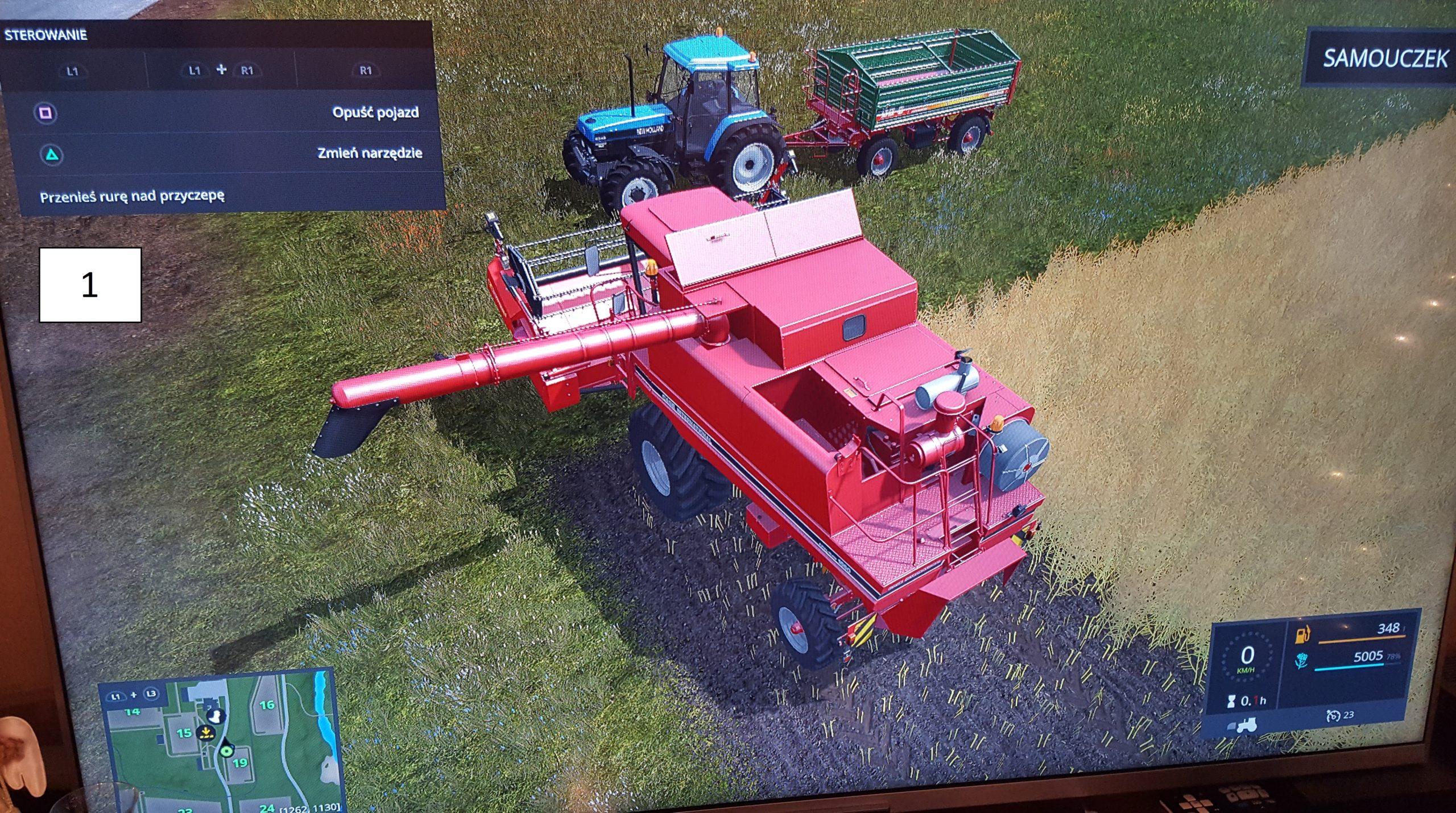 Przyczepa DB 8000 produkcji METALTECH zaprojektowana w Solid Edge dostępna w grze Farming Simulator 2017
