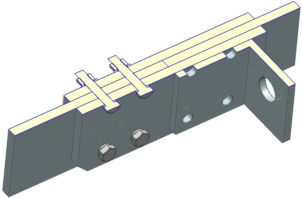 Przekrój na modelu 3D w NX11