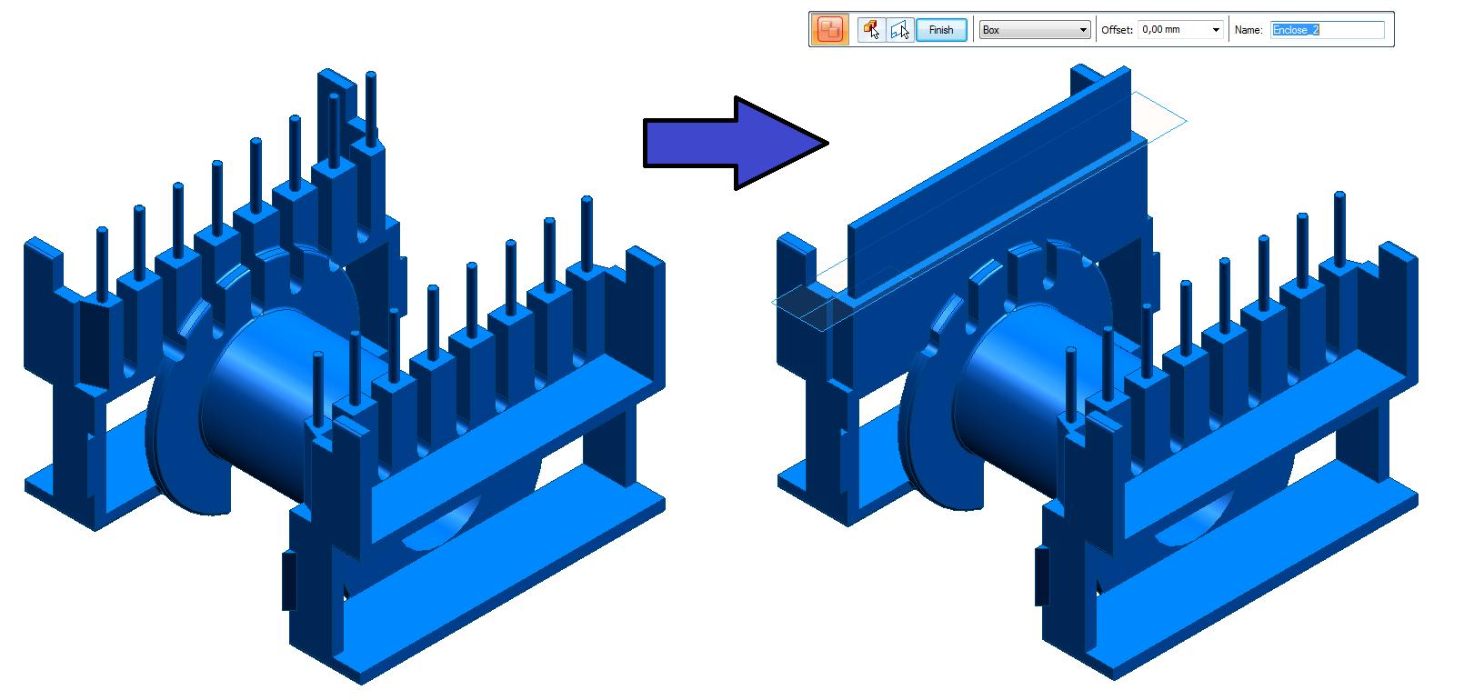 Nowe funkcjonalności zaawansowanego modelowania części w Solid Edge ST9