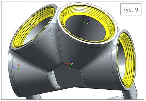Pomocnicze układy współrzędnych w Solid Edge ST10