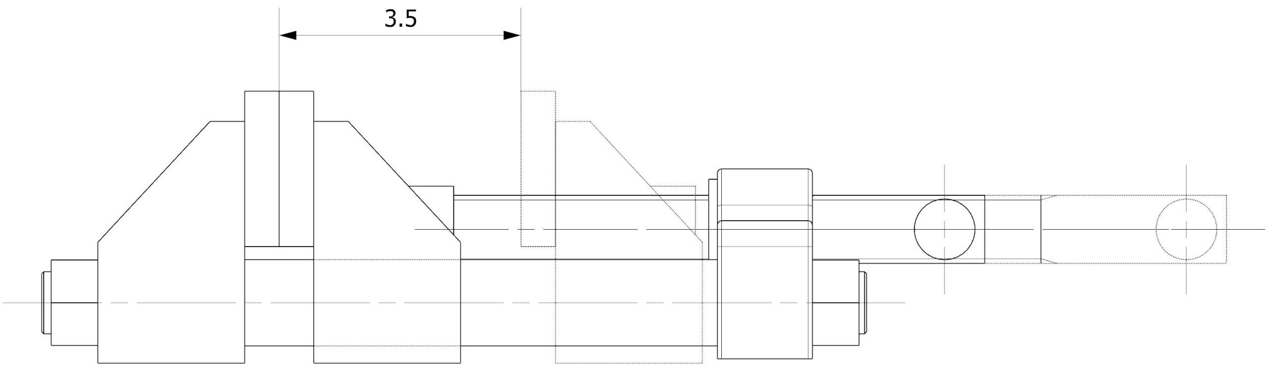 Nałożone widoki w dokumentacji NX CAD