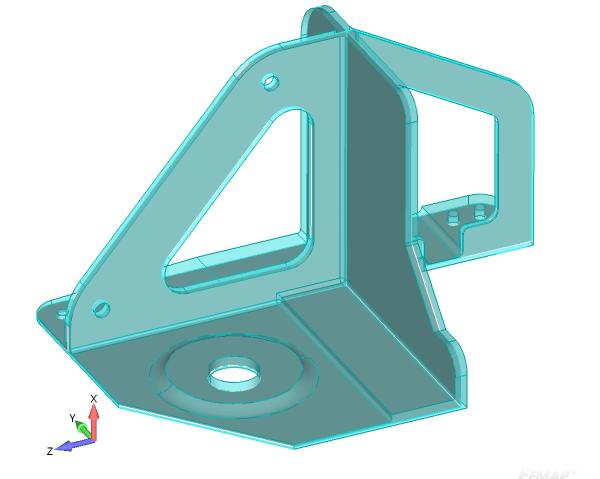 Model 3D i model powłokowy