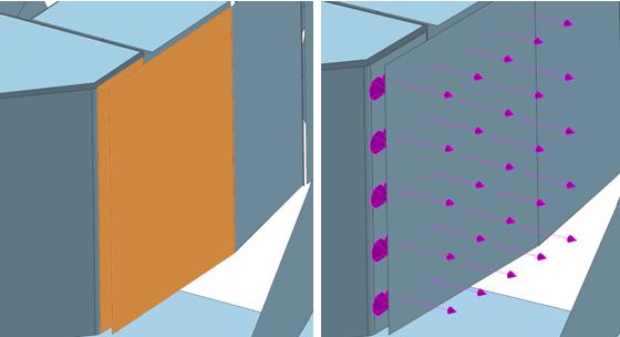 Zastosowanie kontaktu klejonego -powierzchnia do powierzchni w NX CAE