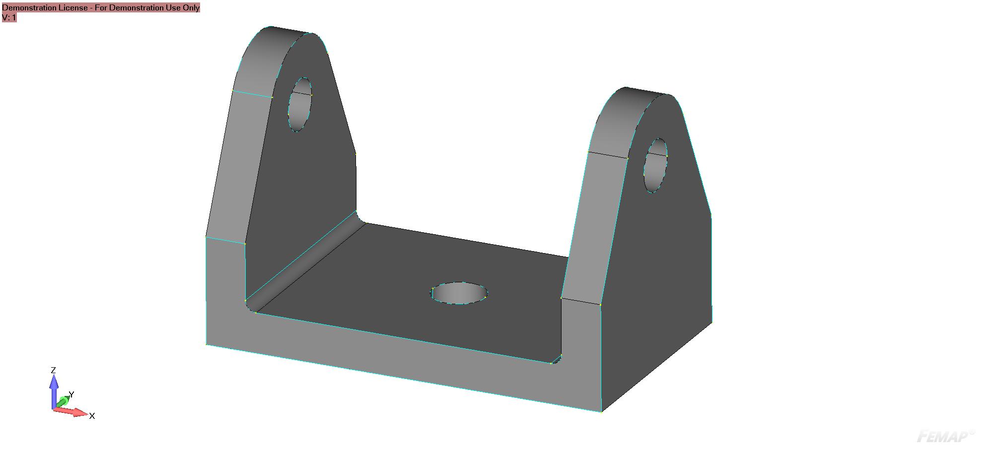 Budowanie modeli obliczeniowych w Femap