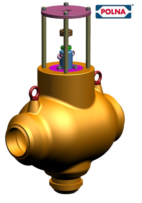 Sposoby przygotowania domeny przepływu dla analizy CFD w środowisku Simcenter 3D na przykładzie modelu CAD zaworu trójdrogowego – Polna SA