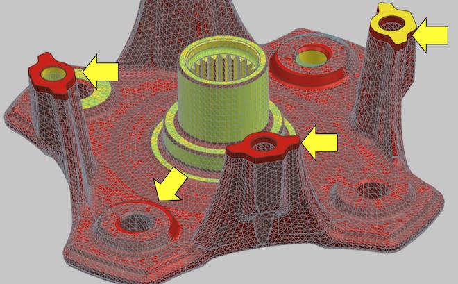 Modyfikacja geometrii - Morfing siatki w Simcenter 3D