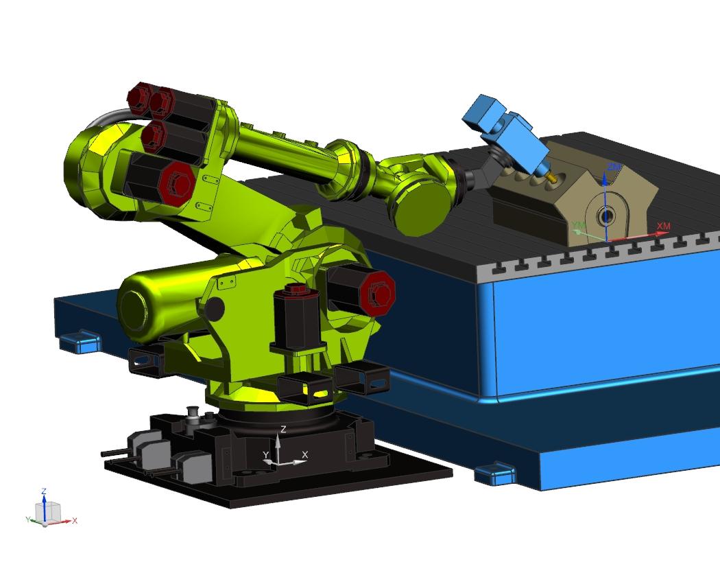 Konfiguracja J1+ J3+ J5+ - NX CAM Robotics