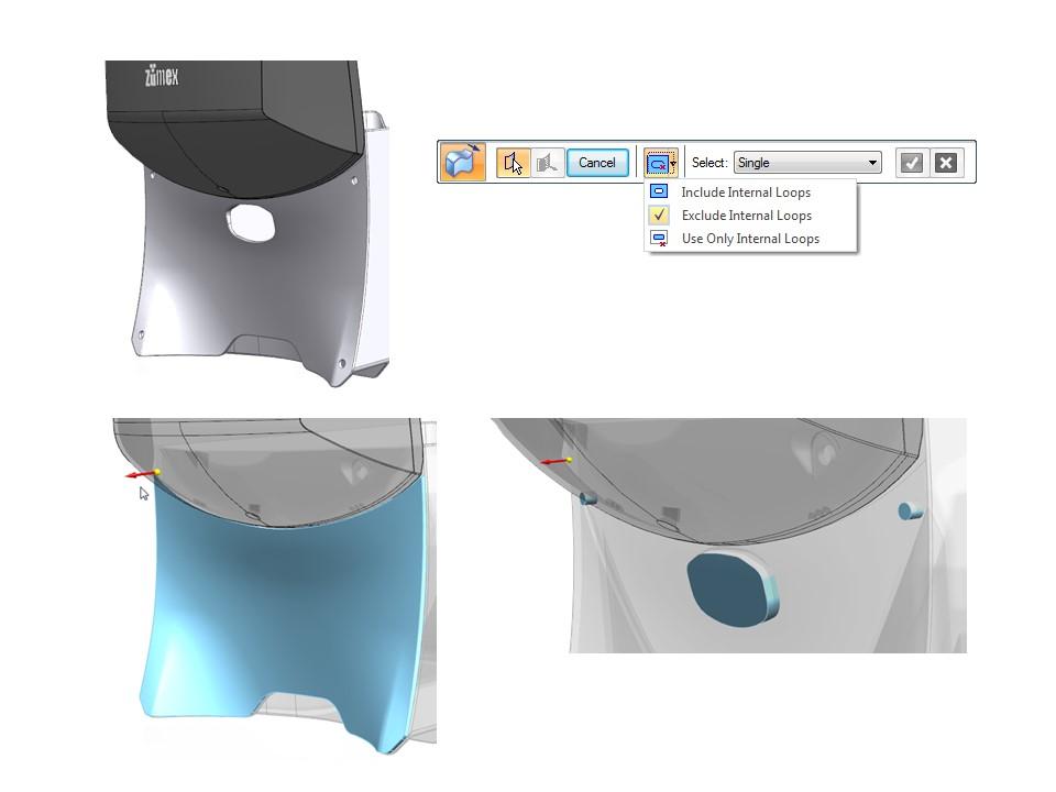 Tworzenie nowych elementów bryłowych za pomocą polecenia pogrubienie
