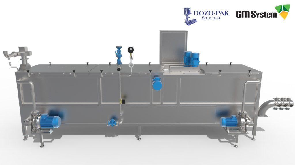 Wizualizacja modelu myjki słoi za pomocą KeyShot