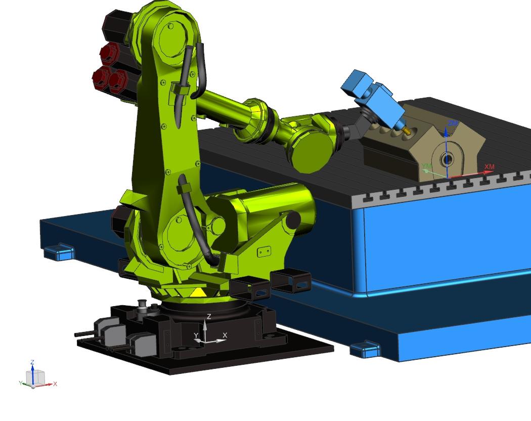 Konfiguracja J1- J3+ J5+ - NX CAM Robotics