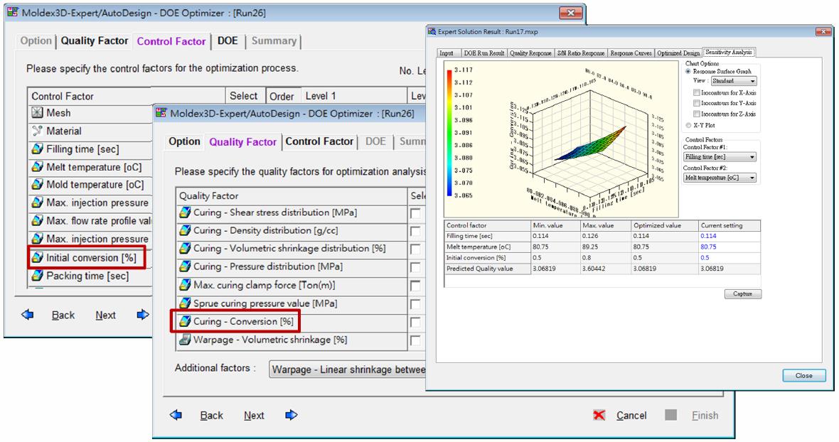 Nowe wskaźniki analizy DOE dla tworzyw reaktywnych