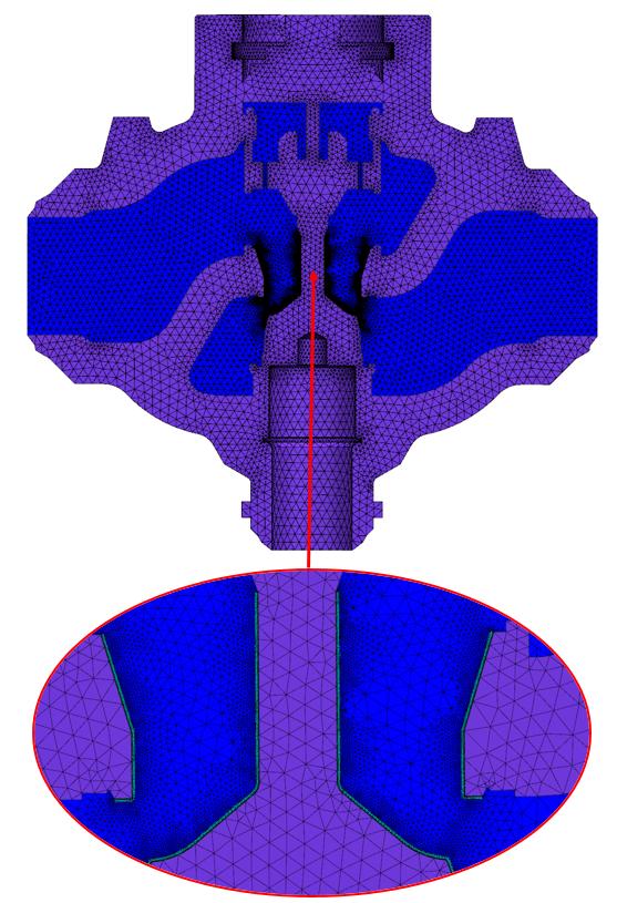 Całościowa siatka objętościowa 3D