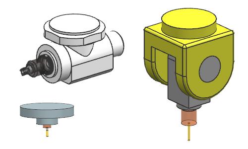 Przykład urządzenia w NX CAM