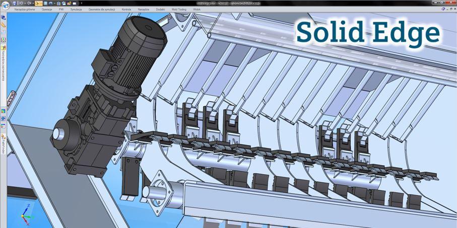 Zastosowanie Solid Edge w branży maszyn i urządzeń spożywczych
