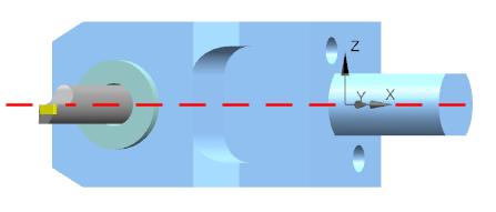 Przykład modelu oprawki narzędzia