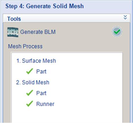 Etapy generowania siatki dla elementów formy