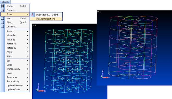 Geometry Break at All Intersections – automatyczny podział przecinających się krawędzi