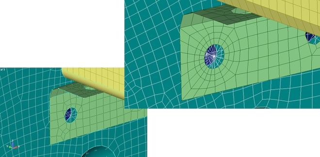 Meshing Toolbox: auto update of rigid elements – automatyczna aktualizacja elementów sztywnych