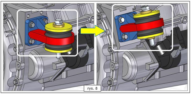 Aktualizacja orientacji przestrzennej powielonych komponentów w złożeniu ST7
