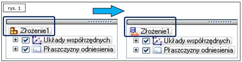 Symbole w Pathfinder - Ograniczona Aktualizacja i-lub Zapis - SOLID EDGE ST7