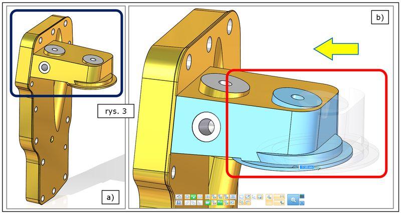 Modyfikacja jednego z komponentów poza środowiskiem złożenia Solid Edge ST7