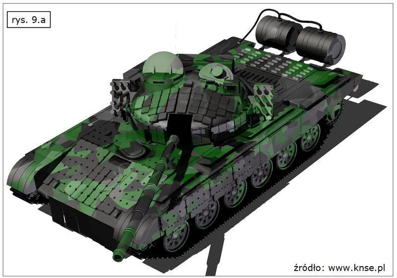Wizualizacja czołgu (pojazdu o gąsienicowym układzie bieżnym) w SOLID EDGE
