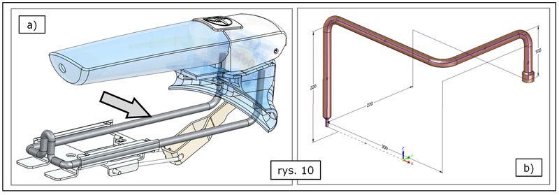 Przykładowe zastosowania polecenia Szkic 3D w SOLID EDGE ST7