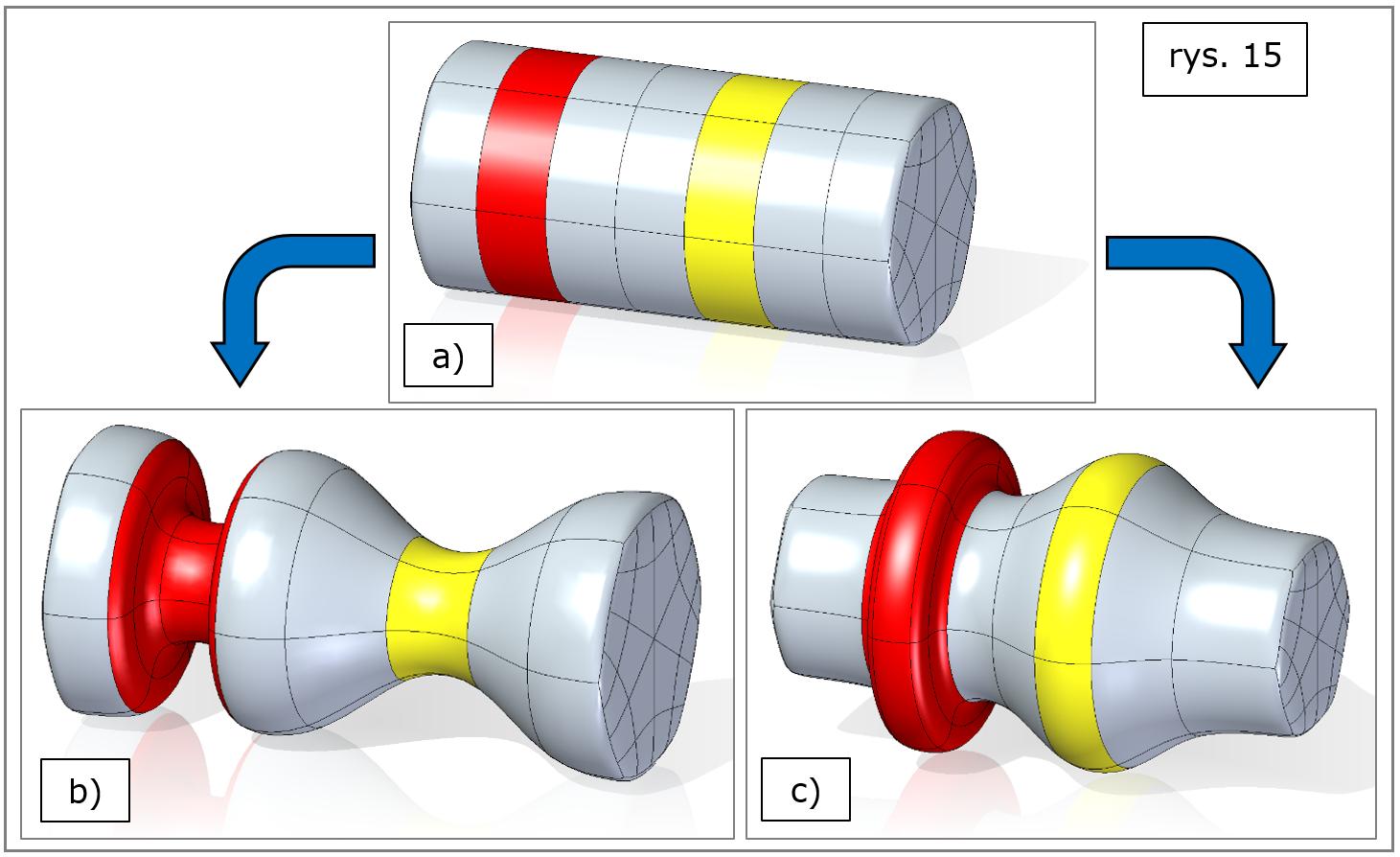 subdivision-modeling-odsuniecia-Solid Edge-2022
